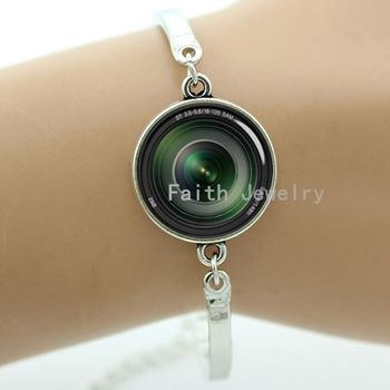 My photography my bracelet, camera Lens art picture, freeze-frame the moment, 2016 new design fashion jewelry -900