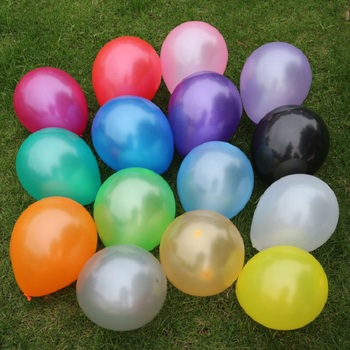 "Pearl Latex Balloons 10"" 2.2 g 10pcs/lot Helium Thickening Pearl Balloons Wedding Brithday Decorations balony globos Toys Gifts"