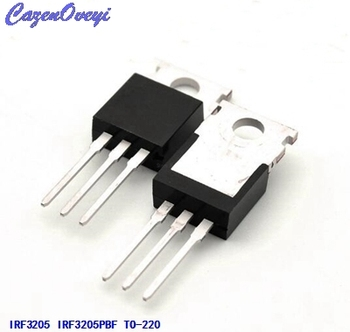 20 Adet/grup IRF3205 IRF3205PBF MOSFET MOSFT 55 V 98A 8 mOhm 97.3nC TO-220 yeni orijinal